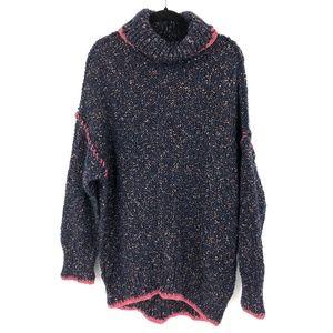 Free People oversized chunky knit sweater tunic M